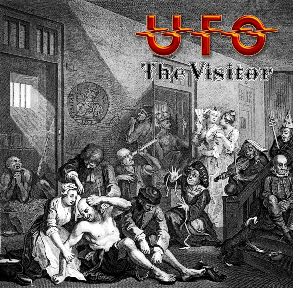 UFO - THE VISITOR LP